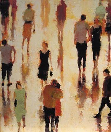 "I love this artist: Lorraine Christie. Painting, ""Have We Met?""    Artist's bio: http://www.lorrainechristie.com/mobile/bio.aspx"