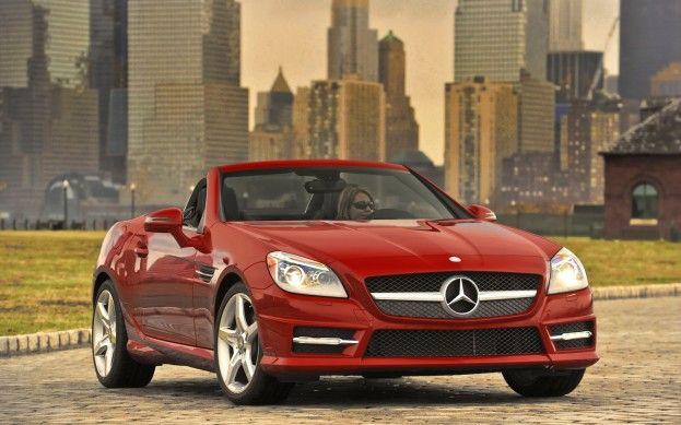 One day. New Mercedes Convertible.