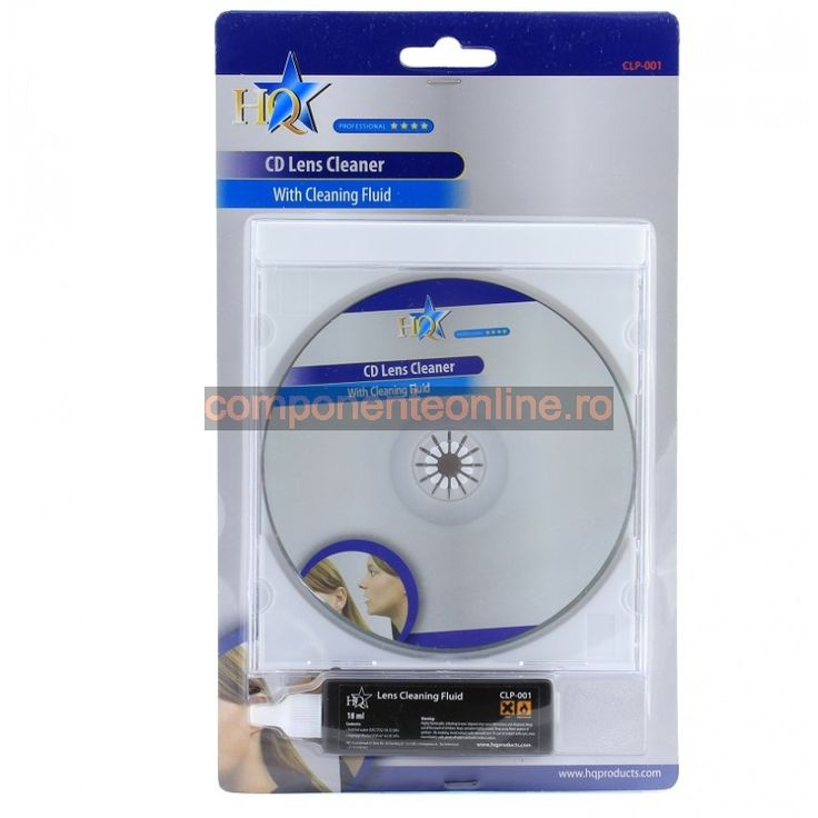 Set curatare dvd playere, HQ CLP-001 - 004229