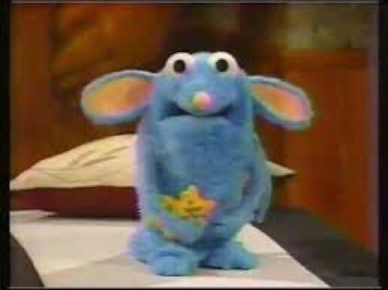 This Was From Bear And The Big Blue House Oml With Images Cute