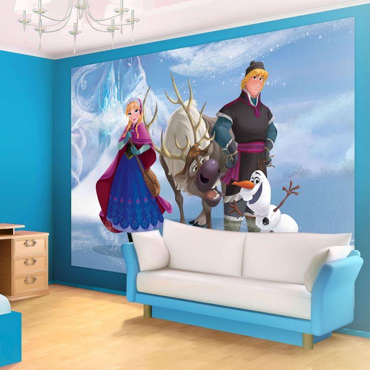Bedroom Interseting Disney Frozen Room Decor