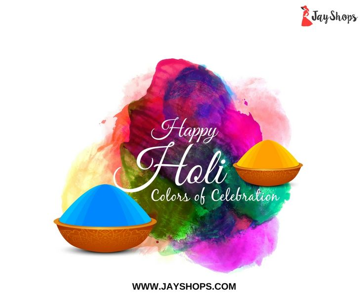 Do not just play just with colors but with all your heart and make this Holi the most memorable one. Happy Holi 2018!  #HappyHoli #FestivalOfColors #Happiness #Celebration #Love #Fun #FestivalVibes #Wishes #ShopOnline #WomensClothing #Jayshopsonline  www.jayshops.com