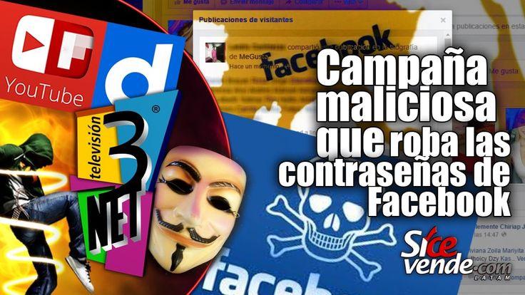 3Net • La campaña maliciosa que roba las contraseñas de Facebook en Lati...