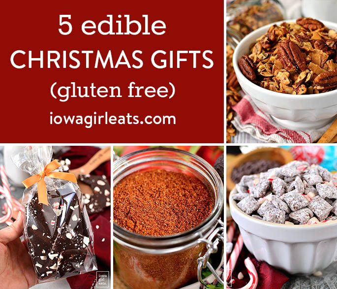 Free Christmas Gifts 2020 5 Edible Christmas Gifts   Gluten Free Christmas Gifts in 2020