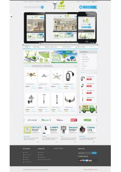 5. Responsive 100% design integrated with Bootstrap HTML 5 and CSS 3 compatibility 6. Left or right sidebar of your choice from admin panel  7. Carousel for New and Featured products on homepage and products page.