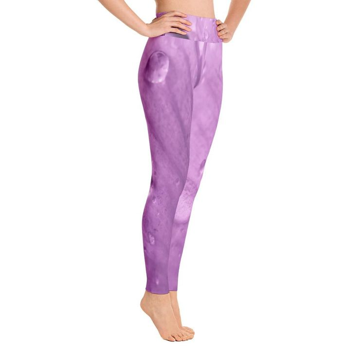 Light Purple Rosada Yoga Leggings