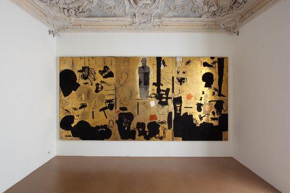 Mimmo Paladino, untitled, 1999, castello di Rivoli museo d'arte contemporanea, Rivoli, Torino