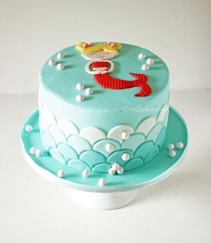Birthday Cake Ideas Mermaid : 17 Best ideas about Mermaid Cakes on Pinterest Mermaid ...