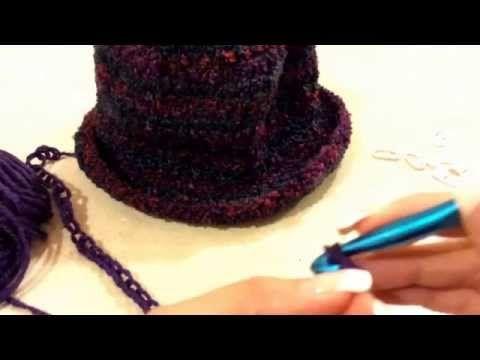!!!Sombrero tejido de Alborada - Complemento de la Palestina de Alborada - Tejiendo con Laura Cepeda - YouTube