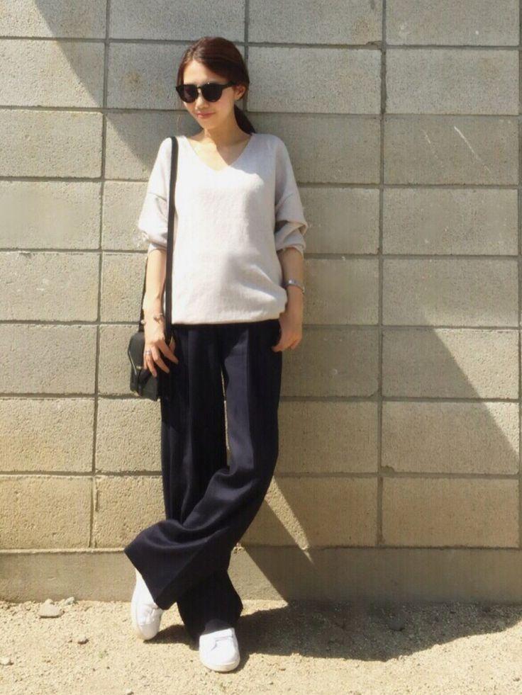 yurieさんのサングラス「MURUA 【LIFE STYLE】シンプルフレ-ムサングラス」を使ったコーディネート