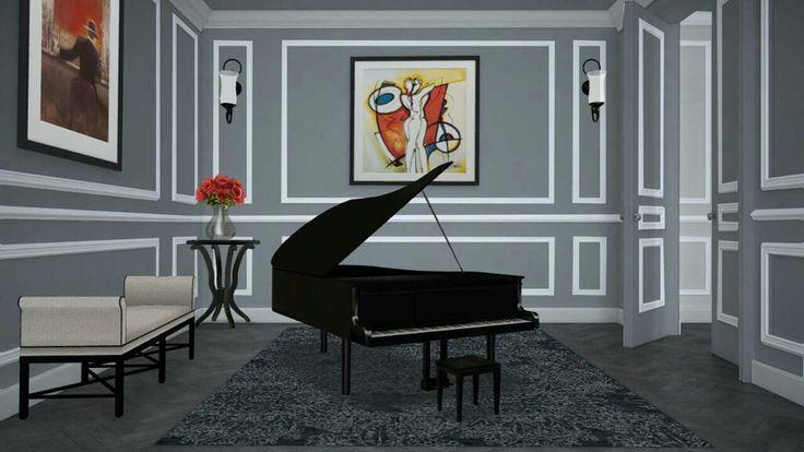 Piano room concept