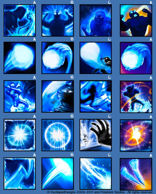 Game icons set 1 by dasawah on DeviantArt