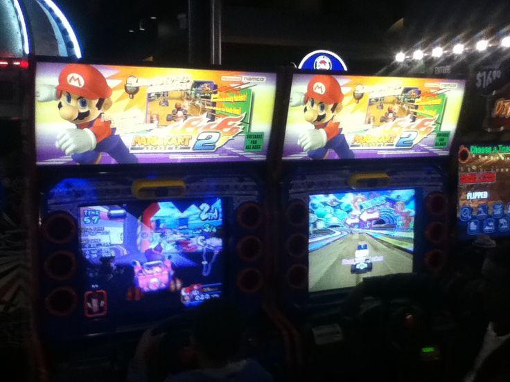 Best Air Freshener >> Mario Kart GP 2 | Dave and Busters | Mario kart arcade, Mario kart, Arcade games