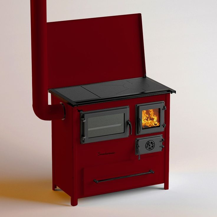Red Trend Wood Stove From Mbs Serbia Smederevac Cookers