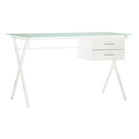 Buy John Lewis Robin Desk, White Online at johnlewis.com