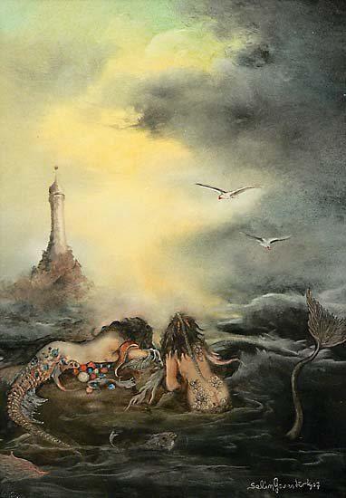 Selim Güventürk:Mitoloji ve Tarih: little mermaids