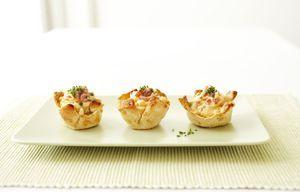 Broodbakjes met roerei en garnalen! http://www.brood.net/recepten/ei/broodbakjes-met-roerei-en-garnalen