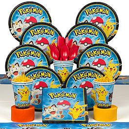 Pokemon Party Supplies, Decorations and Ideas   WholesalePartySupplies.com