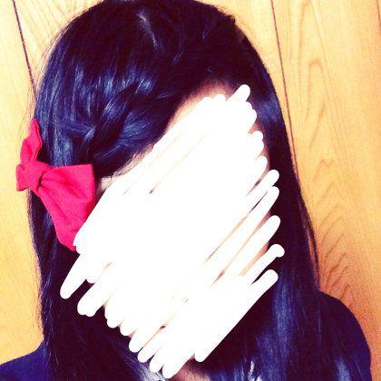 ヘアスタイル:前髪あみあみ
