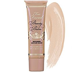 Too Faced - Tinted Beauty Balm SPF 20 #sephora Cosmetic Addiction Says: I bought this for $22 during a promotion at Ulta Beauty and it is my new favorite foundation! I will definitely repurchase.... http://www.facebook.com/CosmeticAddiction