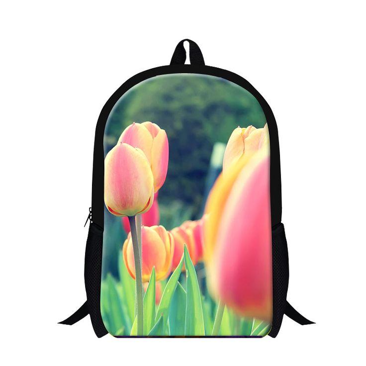 Flower 3D Backpacks //Price: $39.94 & FREE Shipping // #bag #bagsdesigns