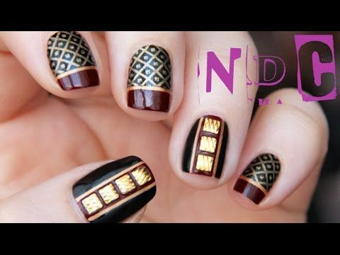 232 best Gold Nail Art Designs, and Tutorials images on Pinterest ...