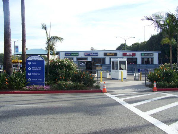 Lgb Hosts Multiple Taxi Shuttle And Car Rental Services