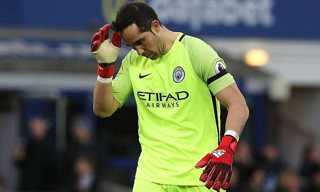 Manchester City will listen to offers for Claudio Bravo