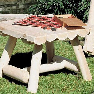 Have to have it. Square Rustic Outdoor Coffee Table $119.98