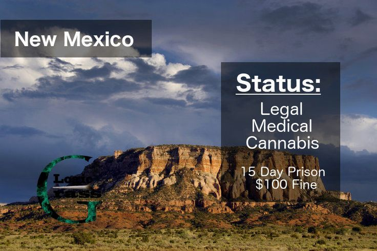 Check out the legal status of marijuana in New Mexico #marijuanalegalization #cannabiscommunity