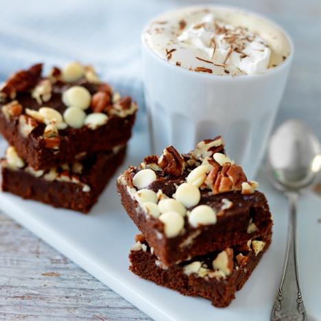 glutenfria brownies med kokosmjöl   gluten free brownies with coconut flour