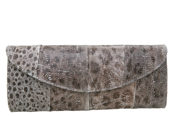 #clutch made of fish leather (wolffish)   Design by #Gydja