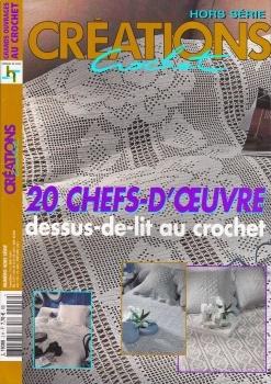 Crochet Creations Hors-serie №3H 20 Chefs-DOeuvre