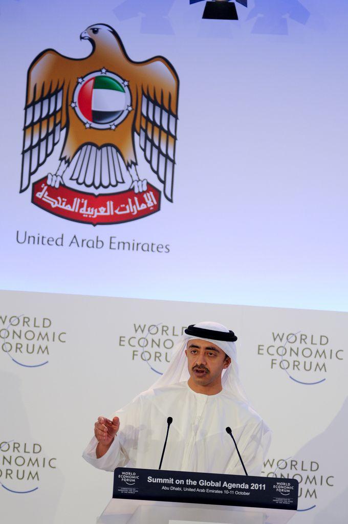 Sheikh Abdullah Bin Zayed Al Nahyan - Summit on the Global Agenda 2011