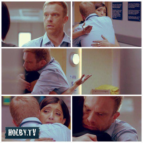 Dylan hugs... Holby.tv (@holbytv)   Twitter