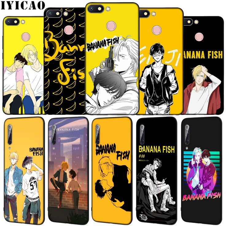 Banana Fish Anime Soft Silicone Phone Case for Xiaomi