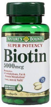 Side Effects of Biotin 5000mcg