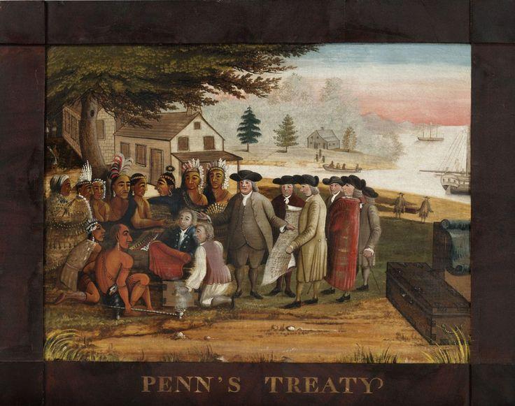 Penn's Treaty, 1830-35, Edward Hicks