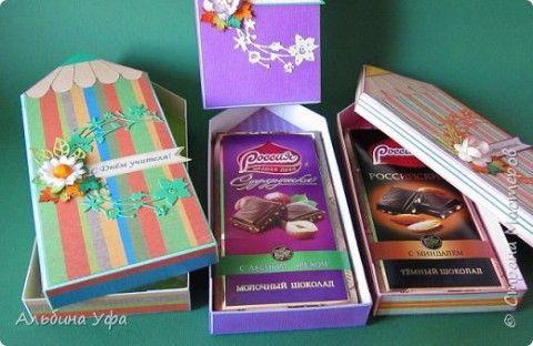 Шоколадница: как превратить обычную шоколадку в красивый подарок