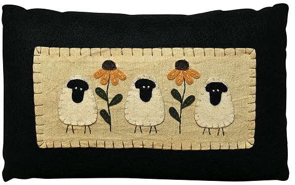wool applique sheep see this as a picture