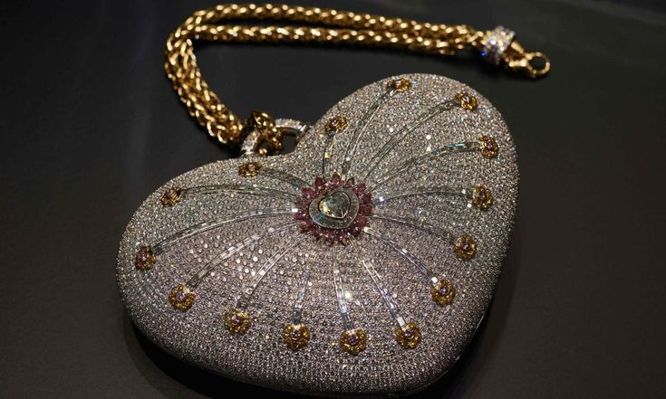 Feast your eyes on the world's most expensive bag valued at $3.8 million!