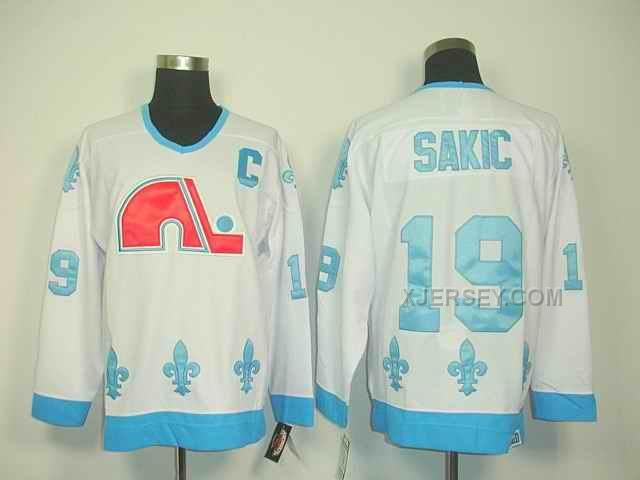 http://www.xjersey.com/quebec-nordiques-19-sakic-white-jerseys.html Only$46.00 QUEBEC NORDIQUES 19 SAKIC WHITE JERSEYS #Free #Shipping!