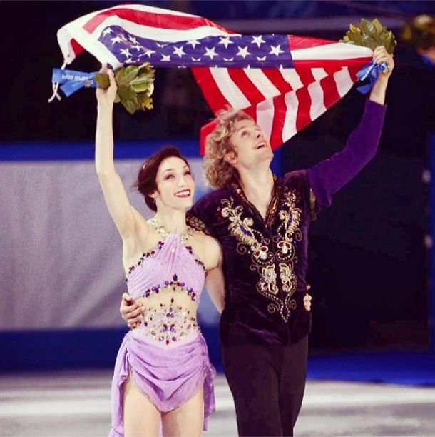 Olympic champions meryl davis and charlie white win the first ever u s
