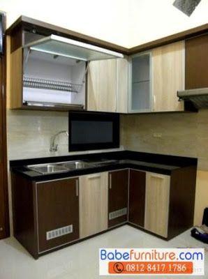 Jasa Pembuatan Kitchen Set Bintaro 0812 8417 1786: Desain Dapur Kecil Minimalis