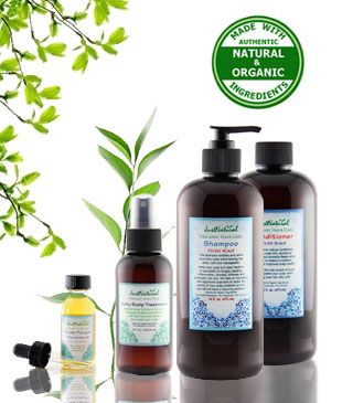 Natural Itchy Scalp Shampoo Helps alleviate scalp itching, flaking and irritation.