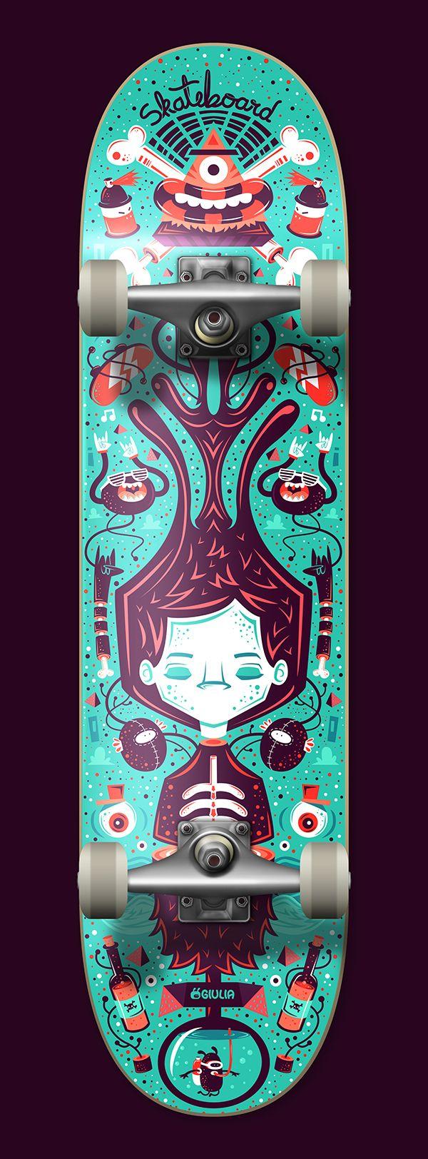 Dreaming by Giulia Marchetti, via Behance