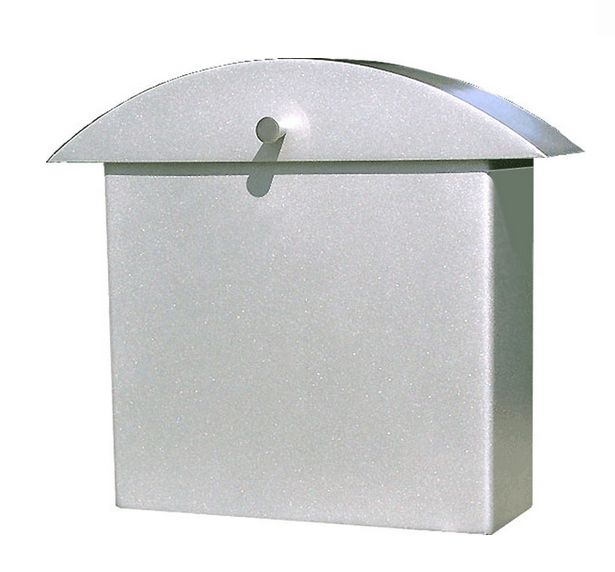 Cassetta postale in alluminio verniciato a polvere#arredamento #design #accessori