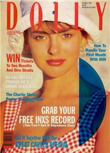 Dolly magazine for the early 90s Aussie girl. Grab your free INXS record! Haha