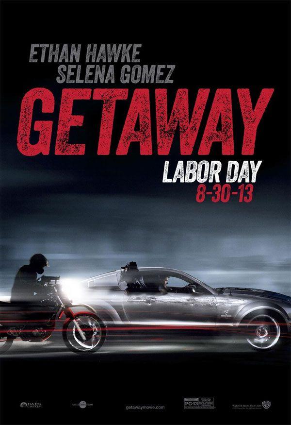 """Novos cartazes do filme """"Getaway"""" com Ethan Hawke e Selena Gomez http://cinemabh.com/imagens/novos-cartazes-do-filme-getaway-com-ethan-hawke-e-selena-gomez"""