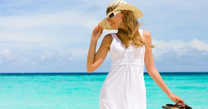 image for 3 trucos para no perder el <i>glamour</i> en la playa